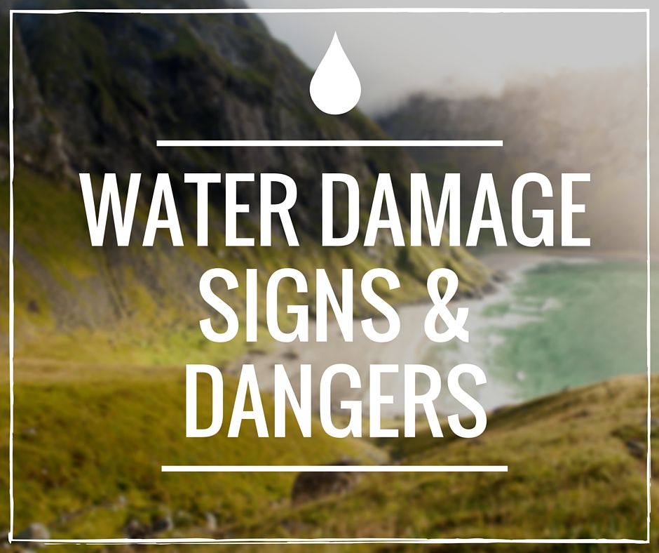 Water Damage Signs and Dangers in Toronto