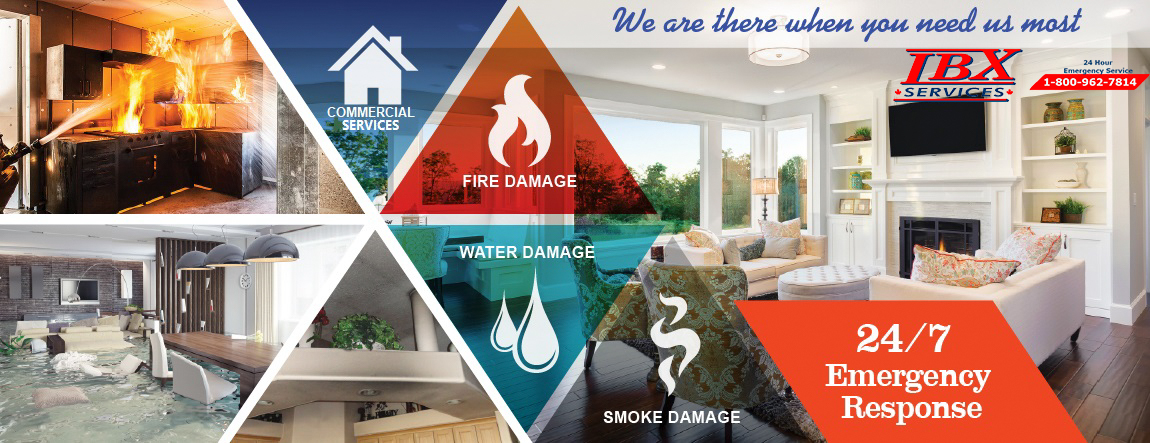 Fire, Water Damage Restoration Toronto