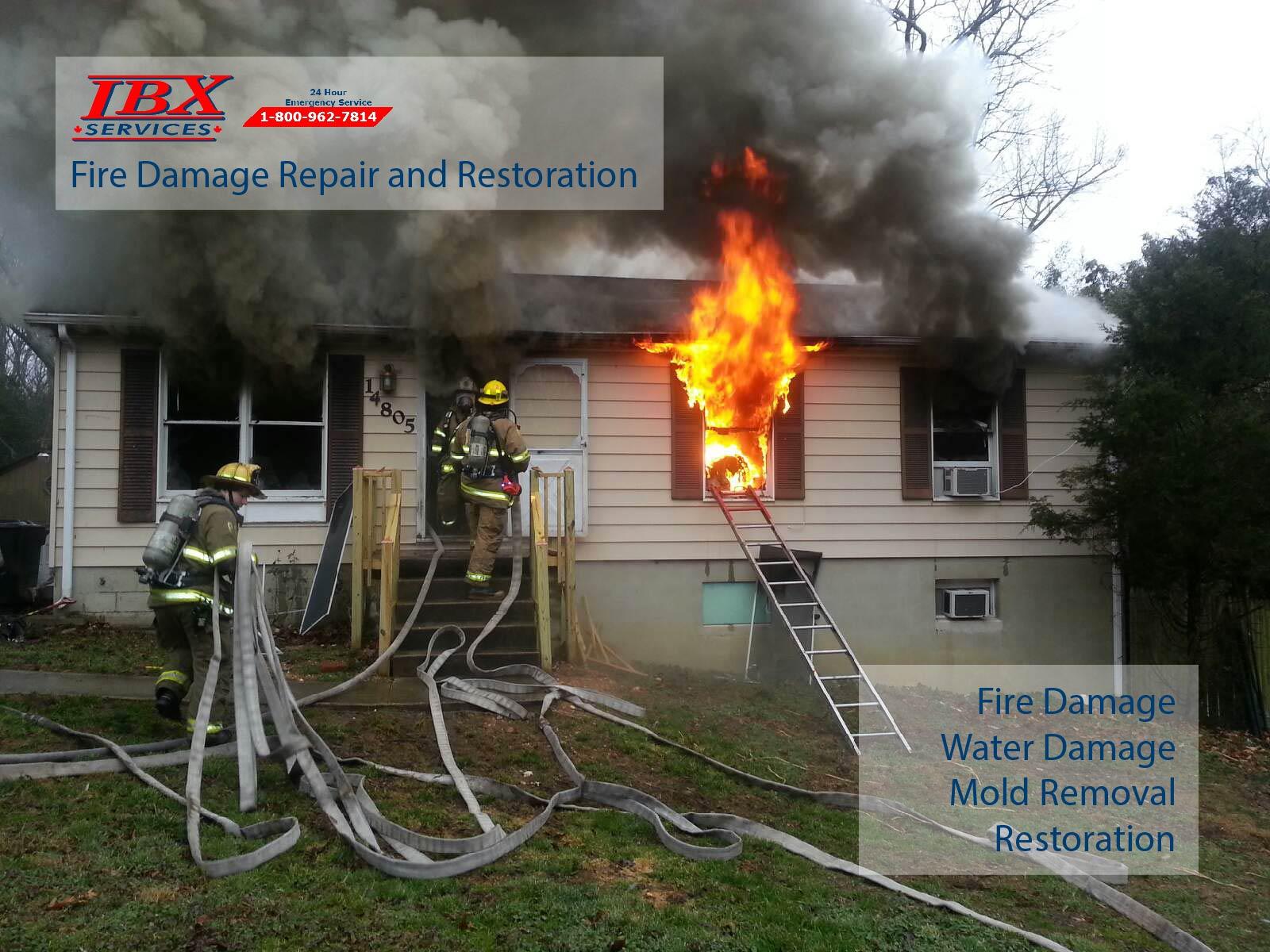 Fire Damage Repair and Restoration