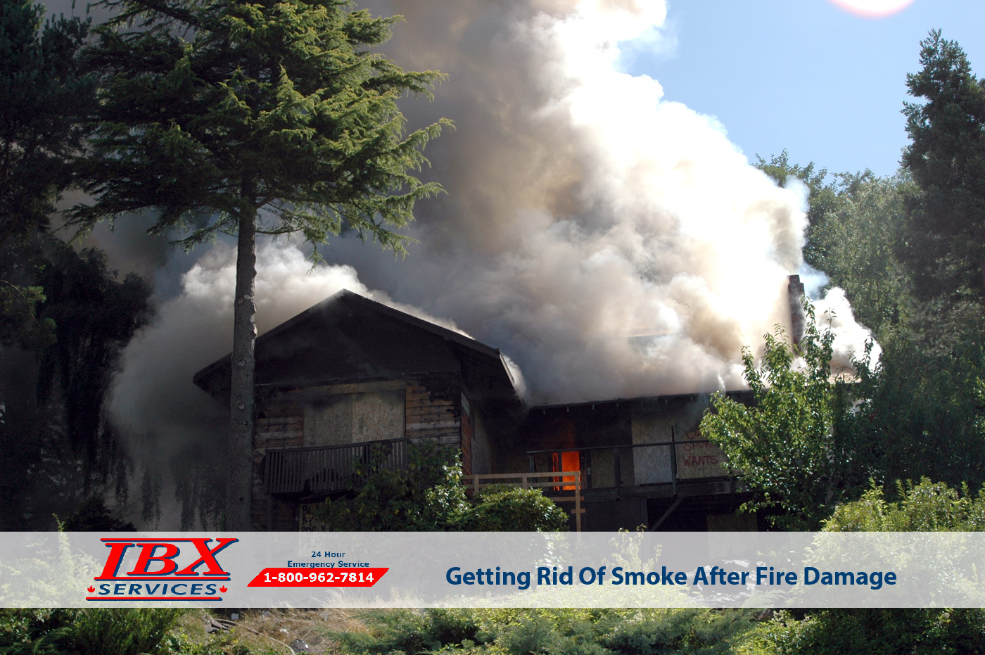 Getting Rid Of Smoke After Fire Damage