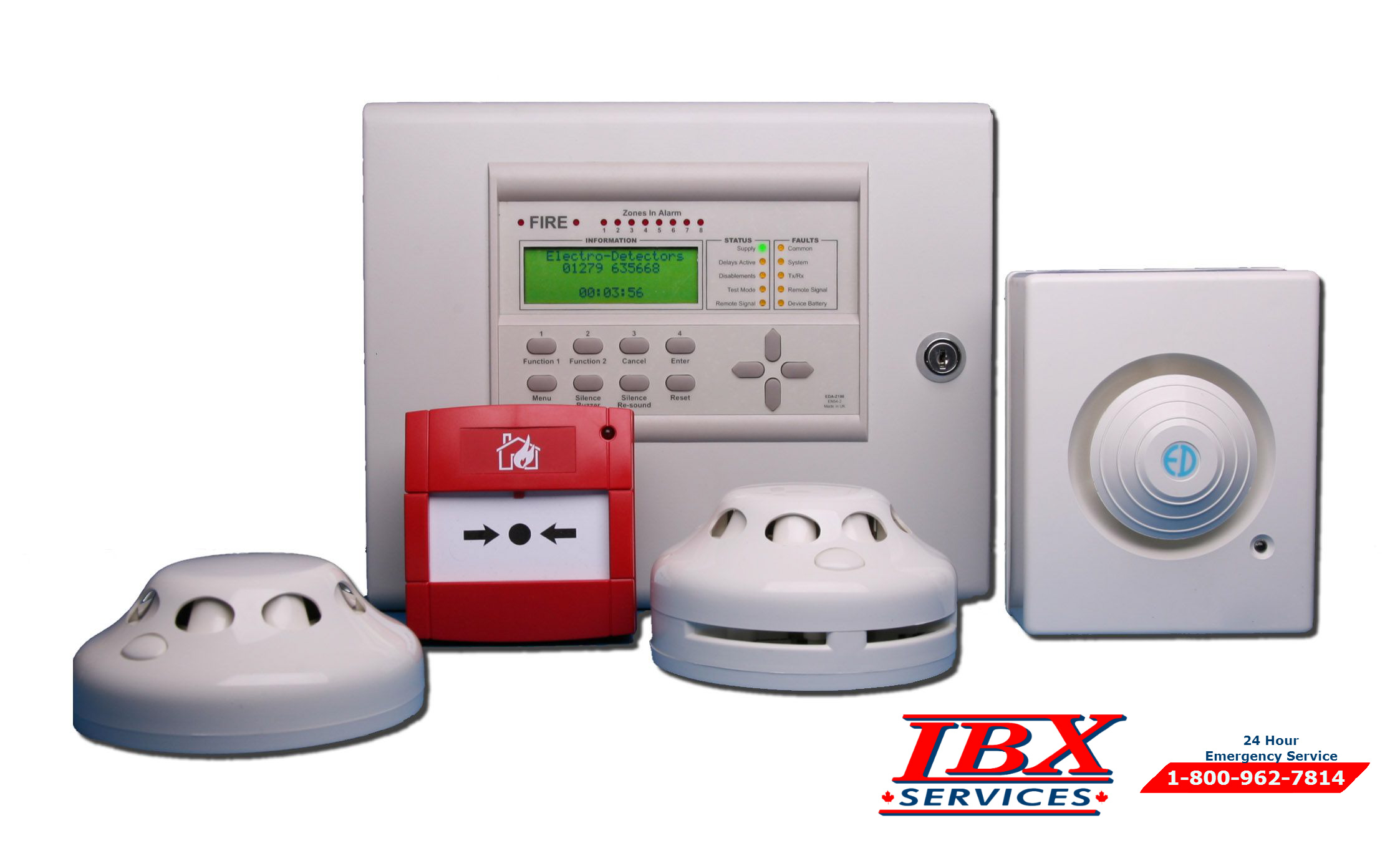 Fire Detection Systems – IBX Services Team